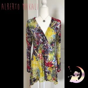 Colorful Tunic by ALBERTO MAKALI Sz M